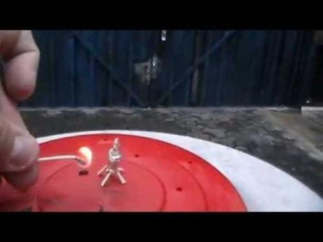 [Vídeo] Constrúyete tu propio cohete con papel de aluminio | Prácticas laboratorio | Scoop.it