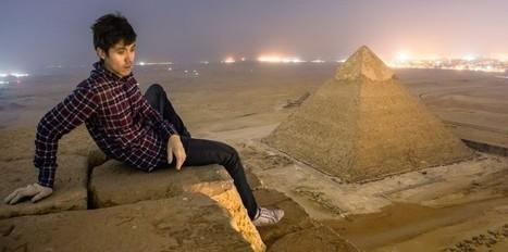 Des touristes fous sur les pyramides de Gizeh   Les lieux de légendes, d'hier et d'aujourd'hui   Scoop.it