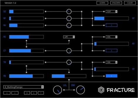 Glitchmachines offer a free buffer plug-in: FRACTURE | Experimental music software and hardware | Scoop.it