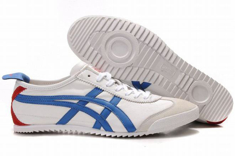 Asics Mexico 66 Deluxe White/Blue/Red Men's | my love list | Scoop.it