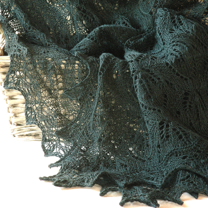 Knits and Crafts: Mystic Forest shawl pattern | Crafts | Scoop.it