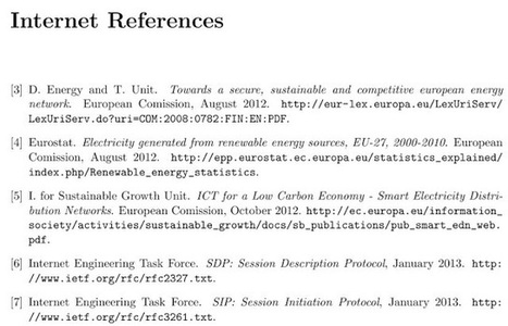 Cara Penulisan Daftar Pustaka Dari Sumber Internet | imuzcorner | imuzcorner | Scoop.it