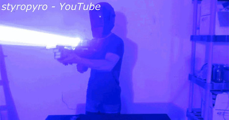Terrifying Laser Bazooka Is Like a Handheld Death Star | It Used to be Science Fiction | Scoop.it