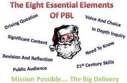 8 Essentials of PBL: The Big Delivery….Santa Believes… DoYou? | EDCI397: PBL and Classroom Climate | Scoop.it