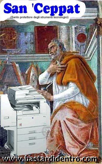 La biografia di San Ceppato da InkJet, santo protettore della carta inceppata | Social Media: notizie e curiosità dal web | Scoop.it