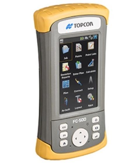 Topcon presenta FC-500: il nuovo controller da campo | Machine Control & Site Automation | Scoop.it