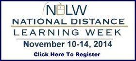 Free Distance Learning Webinars: Nov 10-14 from USDLA | Education | Scoop.it