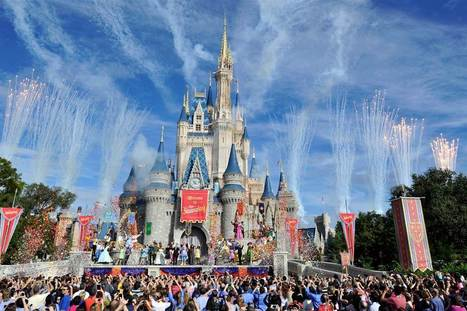 Real, Flying Tinker Bell? Disney Parks Plan to Use Acrobatic Drones | Kickin' Kickers | Scoop.it
