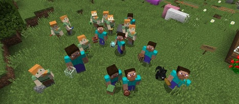 Why Minecraft Rewrites the Playbook for Learning | web learning | Scoop.it