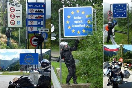 Les Alpes à moto le CR d'une SDS | Les sites favoris de balade à moto | Scoop.it