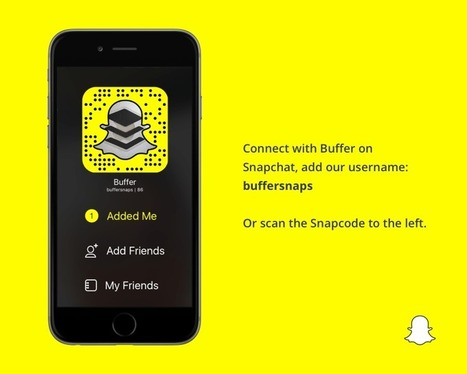 Getting to Know the Ghost: The Complete Guide to Snapchat - The Buffer Blog | Web site & Social Media Marketing | Scoop.it