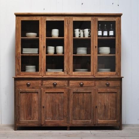 Vitrinenschrank Fewen Möbel massiv online kaufen auf Restyle24.de | Moebel im Landhausstil | Scoop.it