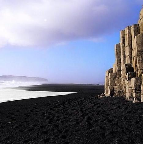 Black beach, Iceland @planetepics | Inuit Nunangat Stories | Scoop.it