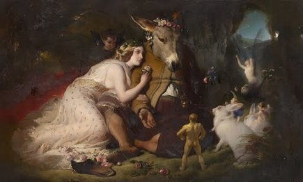 Image: Scene from A Midsummer Night's Dream. Titania and Bottom | A mid summer nights dream | Scoop.it