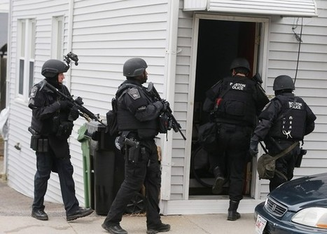 Pictures From Boston Show Militarization Of US Police Forces | THE POWERS THAT BE | Scoop.it