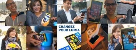 Nouvelle campagne de pub française pour le Lumia : Nokia donne ... | c créatif | Scoop.it