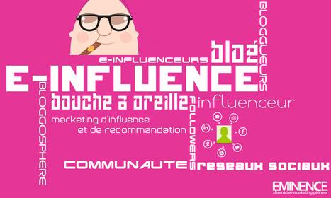 L'e-influence, son importance aujourd'hui | Blog eminence | LES INFLUENCEURS | Scoop.it