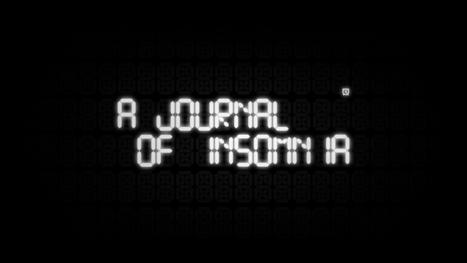 The National Film Board of Canada's   A JOURNAL OF INSOMNIA   Digital Cinema - Transmedia   Scoop.it