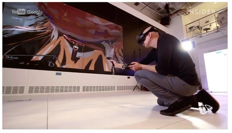 Google created a VIRTUAL REALITY paint brush lets you walk through your own artwork | Machines Pensantes | Scoop.it