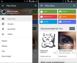 Google Play Store 5.0.31 Update with Material Design | T2Lead | Scoop.it