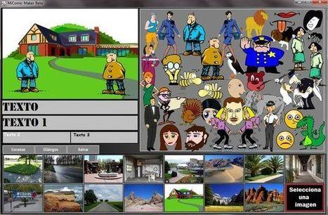 Actualización de MiComic Maker, la aplicación gratuita para crear viñetas y memes | Recull diari | Scoop.it