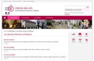 Histoire des arts-Éduscol   Fil Info - ressources HDA   Scoop.it