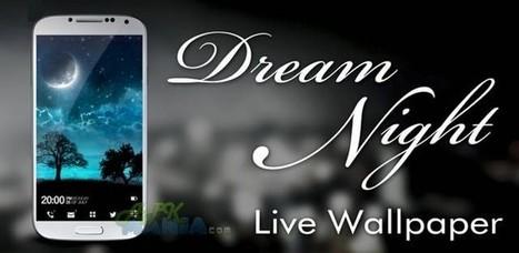 Dream Night Pro Live Wallpaper v1.4.1   apkvietvn   Scoop.it