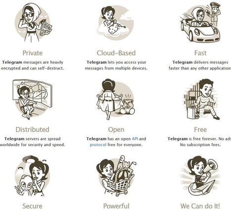 Erikenea -Educación-: 9 posibles motivos para usar Telegram | Tic's du formateur | Scoop.it