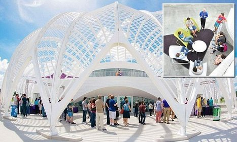 Recently-opened Florida Polytechnic University includes a bookless library - Daily Mail | Libraries & Archives 101 | Scoop.it