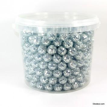Seau de Mini Boules à Facettes Argent | Cbodeco.com - Boutique Festive | Scoop.it