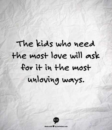 Kids Who Need Love   That's interesting!   Scoop.it