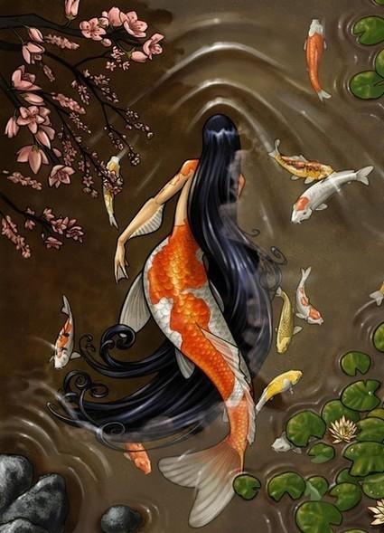 Sirène... - L'Univers magique d'Evy | Salvete discipuli | Scoop.it
