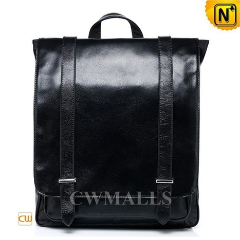 CWMALLS® Mens Leather Messenger Backpacks CW916051   Mens Business Bags   Scoop.it