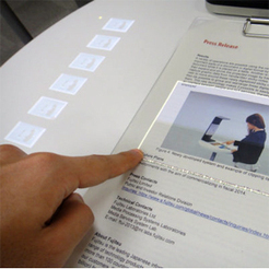 Japoneses transformam papel em tela touchscreen | Digital Sustainability | Scoop.it