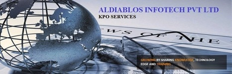 Aldiablos Infotech Pvt Ltd KPO Services Apart from BPO Trade | Aldiablos Infotech Pvt Ltd Services | Scoop.it