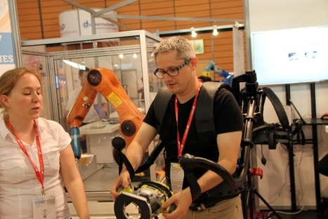 Innorobo : Exhauss, un exosquelette sans électronique - Ubergizmo FR | Geeks | Scoop.it