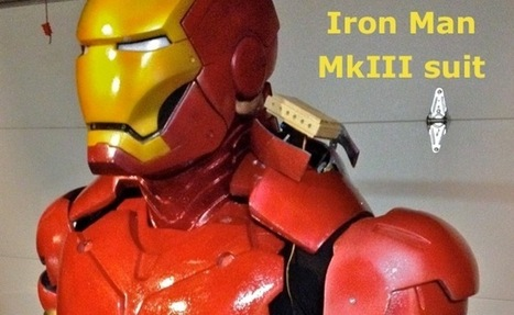 Awesome Arduino Powered Iron Man Suit (video) | Raspberry Pi | Scoop.it