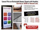 Affordable Retractable Banner Stands with Best Quality | Big Poster | Scoop.it