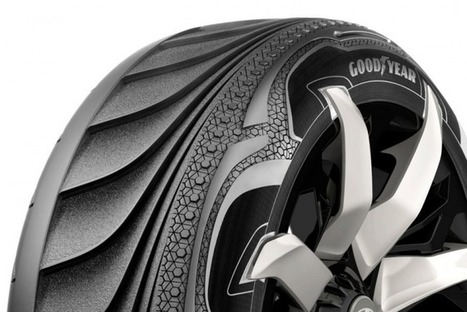 Thermo-piezoelectric tires by Goodyear produces energy for your electric car | Green Prophet | Oil and Gas | Scoop.it