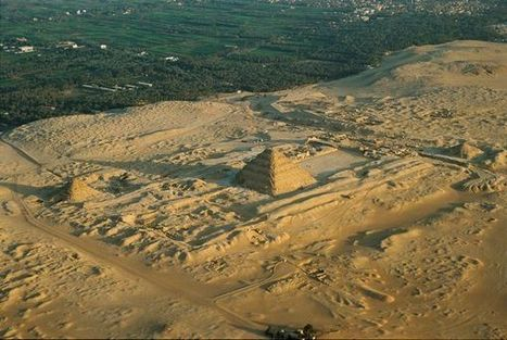 Newly Excavated 4,600-Year-Old Egyptian Pyramid Threatened by Development | Ancient Archaeology | Scoop.it
