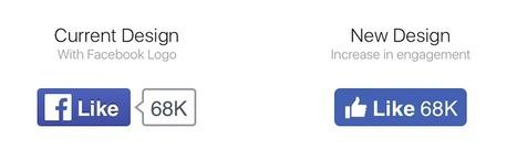 Facebook : le bouton Like change de design - Blog du Modérateur | Tendance digitale - Digital trend (numérique, emarketing, communication, startup, réseaux sociaux) | Scoop.it