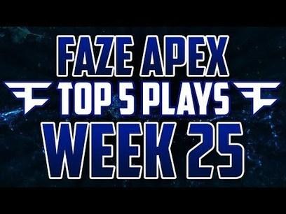 FaZe Apex: Top 5 Plays! - Week 25: Powered by @KontrolFreek | TopRankingVideos | Scoop.it