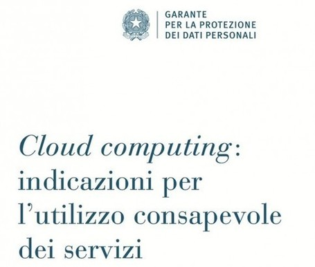Il Garante pubblica nuovi documenti su cloud e tablet - iPad Italia Blog | E-learning arts | Scoop.it
