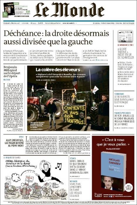 Le Monde n° 22101 - 5 février 2016   Abonnements  CDI   Scoop.it