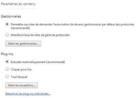 Comment désactiver Flash sur Chrome et Firefox pour des sites spécifiques | Les Infos de Ballajack | Au fil du Web | Scoop.it
