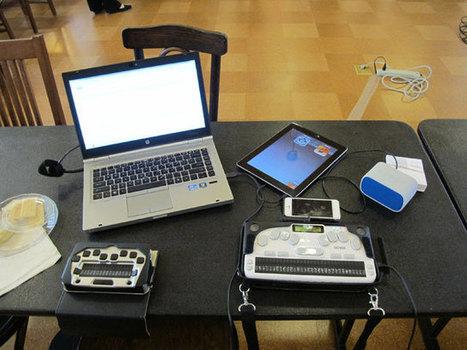 Bridging The Digital Divide For People Who Are Deaf And Blind | digital divide information | Scoop.it