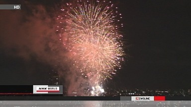 [Eng] Festival de feux d'artifice sur la rivière Sumida NHK WORLD English | Japon : séisme, tsunami & conséquences | Scoop.it