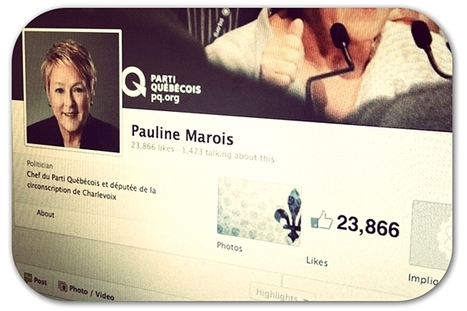 Facebook 'likes' spark political scandal in Canada | Articles | Home | PR examples | Scoop.it