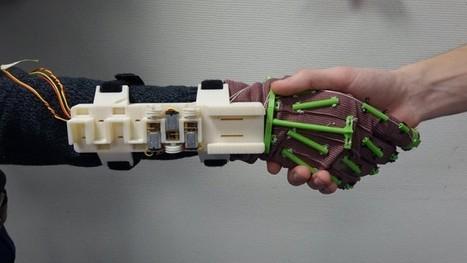 Dagoma et l'ISEN créent un exosquelette | Fabrication Numérique | Scoop.it