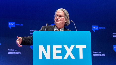 Bruce Sterling - Fantasy prototypes and real disruption - NEXT Berlin Video | Information Abundance | Scoop.it